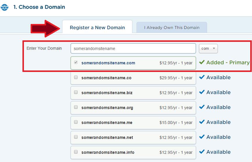 How to Start a Blog - HostGator Domain Name