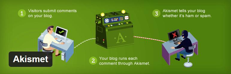 Akismet 10 Essential WordPress Plugins