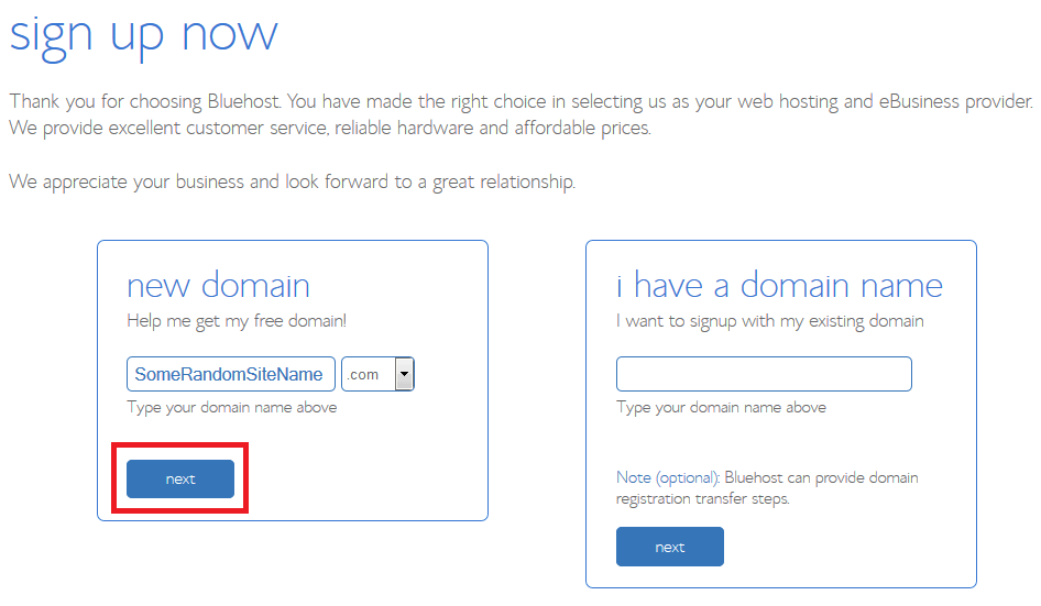How to Start a Blog Bluehost Sign Up