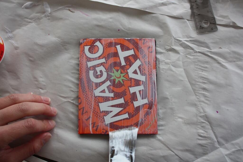Beer Coasters Mod Podge Sealing
