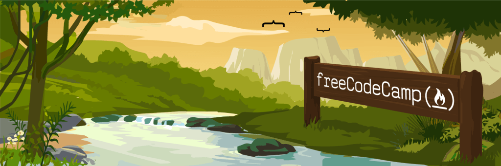 Free Code Camp Social Banner