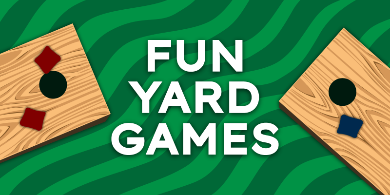9 Fun Yard Games for Graduation Parties and More!