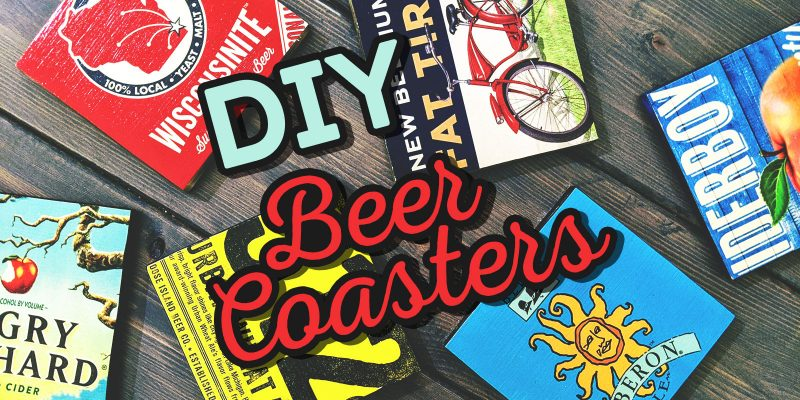 Weekend Projects: DIY Beer Coasters
