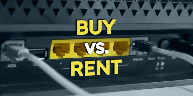 Cable Modem Buy vs Rent